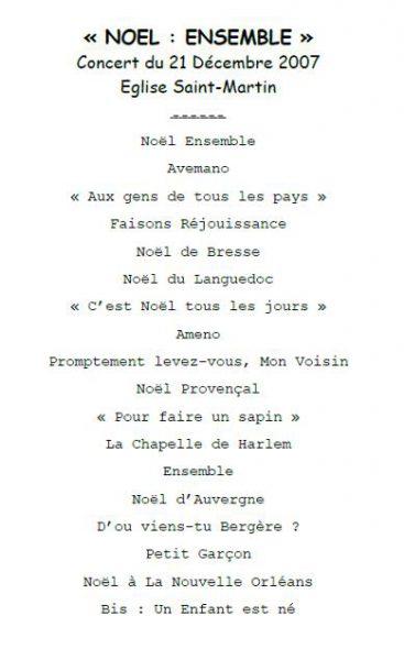 2007-concert-noel-ensemble-programme