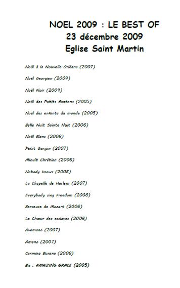 2009-concert-le-best-of-programme
